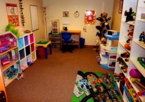 игровая терапия Play-therapy кабинет